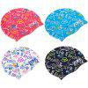 cheap ZOKE Unisex Graffiti Pattern Waterproof Swimming Hat