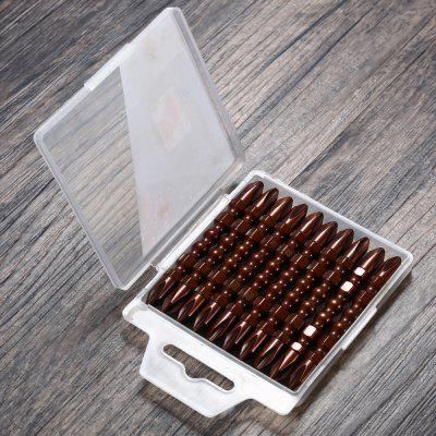 10PCS PH2 S2 Calabash Style Double Head Screwdriver Bit