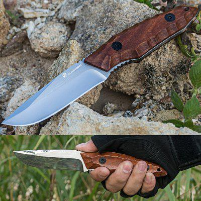 HX OUTDOORS D - 145 Tactical Fixed Edge Knife