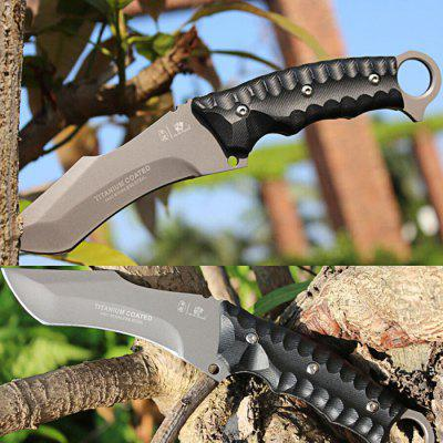 HX OUTDOORS D - 121 Tactical Camping Fixed Blade Knife