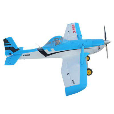 Dynam Cessna 188 RC Airplane RTF VersionRC Airplanes<br>Dynam Cessna 188 RC Airplane RTF Version<br><br>Brand: Dynam<br>Channel: 4-Channels<br>Charging Time: 30 mins<br>Detailed Control Distance: 1000m<br>Features: Radio Control<br>Flying Time: 6-8mins<br>Function: Up/down, Turn left/right, Forward<br>Material: EPO, Electronic Components<br>Mode: Mode 2(Left Hand Throttle)<br>Package Contents: 1 x Kit, 1 x Motor, 1 x ESC, 6 x Servo, 1 x Transmitter, 1 x Receiver, 1 x Battery, 1 x English Manual<br>Package size (L x W x H): 105.00 x 51.00 x 21.00 cm / 41.34 x 20.08 x 8.27 inches<br>Package weight: 4.600 kg<br>Power: Built-in rechargeable battery<br>Product size (L x W x H): 150.00 x 100.00 x 15.00 cm / 59.06 x 39.37 x 5.91 inches<br>Remote Control: Radio Control<br>Transmitter Power: 4 x 1.5V AA battery (not included)