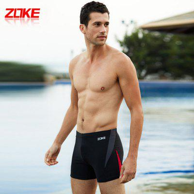 ZOKE Male Elastic Waistband Swimming Boxers