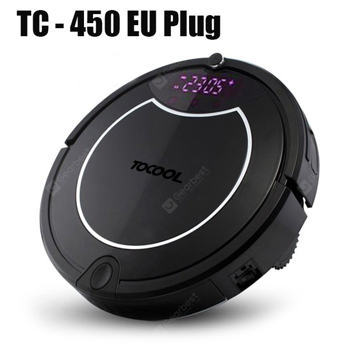 Image result for TOCOOL TC - 450 Smart Robotic Vacuum Cleaner