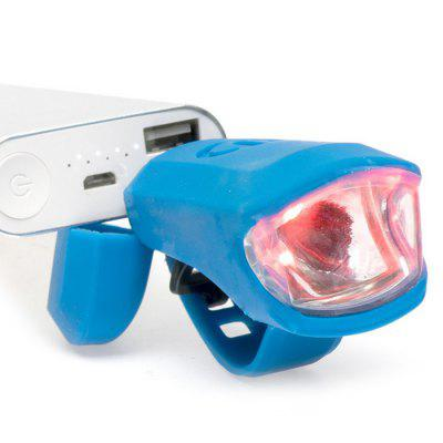 LEADBIKE A50 LED USB Silicone Bike Front Light