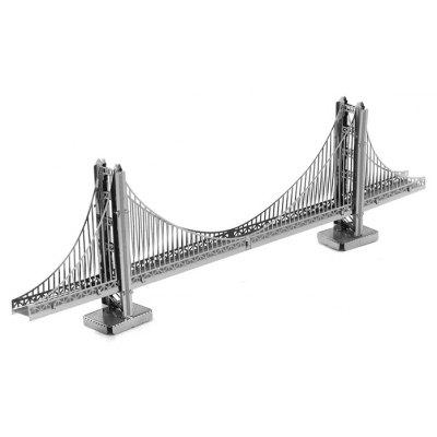 ZOYO Metallic Golden Gate Bridge Style Module Assembling Toy