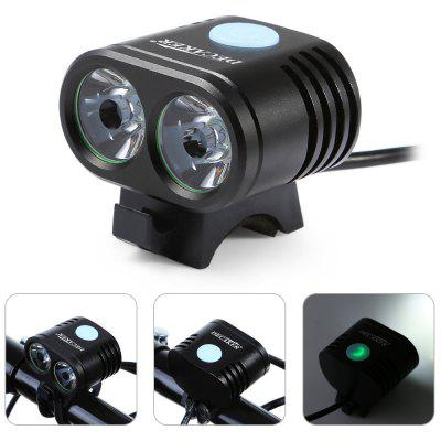 DECAKER XML - T6 2 LED Front Bicycle Light
