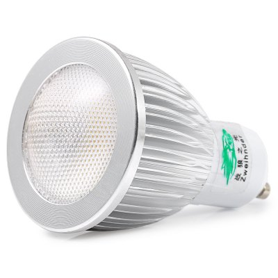 Zweihnder GU10 5W 450LM COB Convex LED Light Bulb
