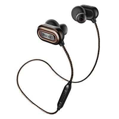 MACAW T1000 Bluetooth HiFi Sports Headphones Earbuds with Mic Volume Control