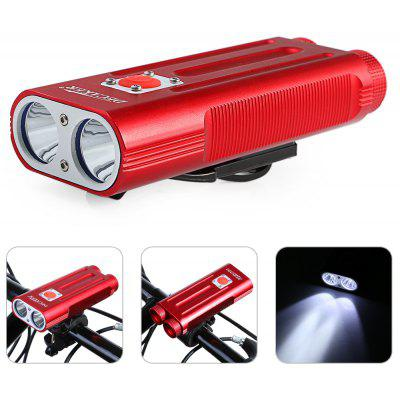 DECAKER Multi-function 1200Lm XML T6 LED Bicycle Light
