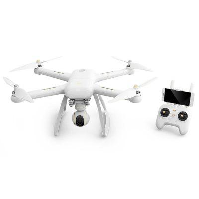 XIAOMI Mi Drone 4K WIFI FPV QuadcopterRC Quadcopters<br>XIAOMI Mi Drone 4K WIFI FPV Quadcopter<br><br>Battery: 15.2V 5100mAh<br>Brand: Xiaomi<br>Built-in Gyro: 6 Axis Gyro<br>Channel: Unknown<br>Charging Time.: About 3.5<br>Control Distance: Above 800m<br>Detailed Control Distance: About 3000m<br>Flying Time: About 27mins<br>Functions: Forward/backward, Waypoints, Up/down, Turn left/right, Camera, FPV, Hover, Low-voltage Protection, One Key Automatic Return, One Key Landing, One Key Taking Off, Tap to Fly<br>Kit Types: RTF<br>Level: Advanced Level<br>Material: PC, Electronic Components, Carbon Fiber<br>Mode: Mode 2 (Left Hand Throttle)<br>Model Power: Built-in rechargeable battery<br>Motor Type: Brushless Motor<br>Package Contents: 1 x Quadcopter, 1 x Transmitter, 1 x Camera, 1 x Charger, 1 x Chinese Manual<br>Package size (L x W x H): 39.00 x 46.00 x 18.00 cm / 15.35 x 18.11 x 7.09 inches<br>Package weight: 4.5800 kg<br>Product size (L x W x H): 38.00 x 45.50 x 17.00 cm / 14.96 x 17.91 x 6.69 inches<br>Radio Mode: Mode 2 (Left-hand Throttle)<br>Remote Control: WiFi Remote Control<br>Type: Quadcopter<br>Video Resolution: 4K