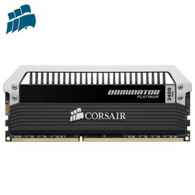 CORSAIR DOMINATOR CMD32GX3M4A2400C10 Memory BankMemory Modules<br>CORSAIR DOMINATOR CMD32GX3M4A2400C10 Memory Bank<br><br>Application: Desktop<br>Brand: CORSAIR<br>Capacity: 32GB<br>Certificate: Others<br>Memory Frequency: 2400MHz<br>Memory Transmission Type: DDR3<br>Package Contents: 4 x CORSAIR DOMINATOR CMD32GX3M4A2400C10 Memory Module<br>Package Size(L x W x H): 18.25 x 17.75 x 2.75 cm / 7.19 x 6.99 x 1.08 inches<br>Package weight: 0.2550 kg<br>Product Size(L x W x H): 16.25 x 15.75 x 1.75 cm / 6.4 x 6.2 x 0.69 inches<br>Product weight: 0.2200 kg