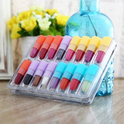 16 Colors Long Lasting Moisturizer Lipstick
