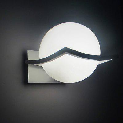 Global Shaped LED Wall Light Market Walkway Patio Hallway