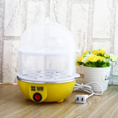 Multi-functional Two Layers 14 Eggs Boiler
