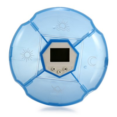 Portable Round Shaped Smart Medicine Box