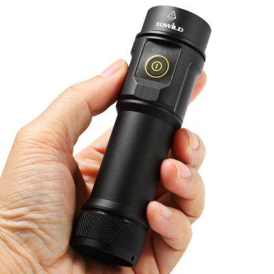 TOWILD BC06 Rechargeable LED Flashlight