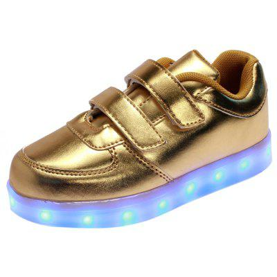 USB Flashing LED Children Shoes