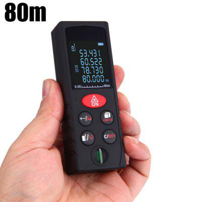 KXL-D80 80m Handheld Range Finder Laser Meter Measuring Devices Tool