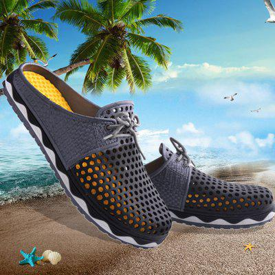 Summer Men Breathable Air-mesh Leisure Shoes Beach Sandals