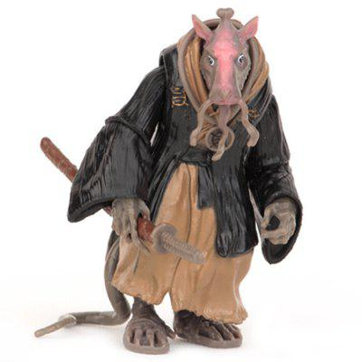 10cm Movie Figure Rat Style Doll Model Toy Gift for Adult Child