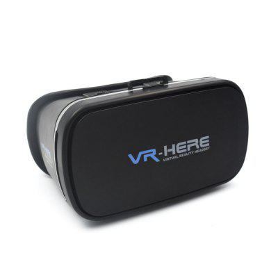 VR HERE 3D Virtual Reality Glasses Self-adhesive CaseVR Headset<br>VR HERE 3D Virtual Reality Glasses Self-adhesive Case<br><br>Color: Black<br>Compatible with: Smartphones<br>Material: ABS, PU Leather<br>Package Contents: 1 x 3D Glasses, 1 x Dry Alcohol Pack, 1 x Wet Alcohol Pack, 2 x EVA Pad, 1 x Chinese and English User Manual<br>Package size (L x W x H): 19.50 x 16.50 x 12.50 cm / 7.68 x 6.5 x 4.92 inches<br>Package weight: 0.578 kg<br>Product size (L x W x H): 18.30 x 13.00 x 10.00 cm / 7.2 x 5.12 x 3.94 inches<br>Product weight: 0.361 kg<br>Smartphone Compatibility: 3.5 - 6.0 inch<br>VR Glasses Type: VR Glasses