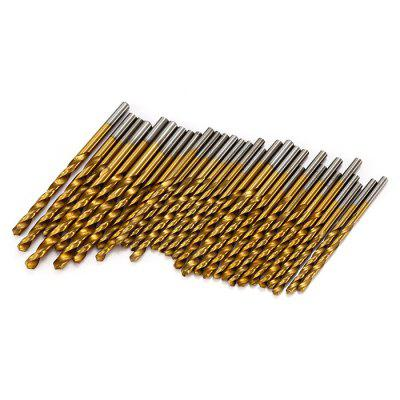 99PCS Titanium Coated Twist Drill Bit Tool