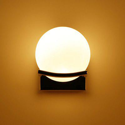 Global Shaped LED Wall Light Market chodnik Patio przedpokoju