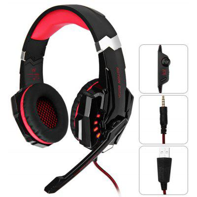 KOTION EACH G9000 3,5mm USB Gaming Headset Over-Ear Kopfhörer für PS4