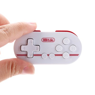 8Bitdo ZERO FC30 Bluetooth Remote Controller  -  RED WITH WHITE