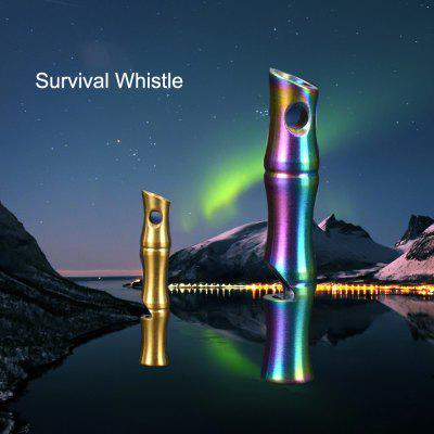 FURA Bamboo Survival Whistle