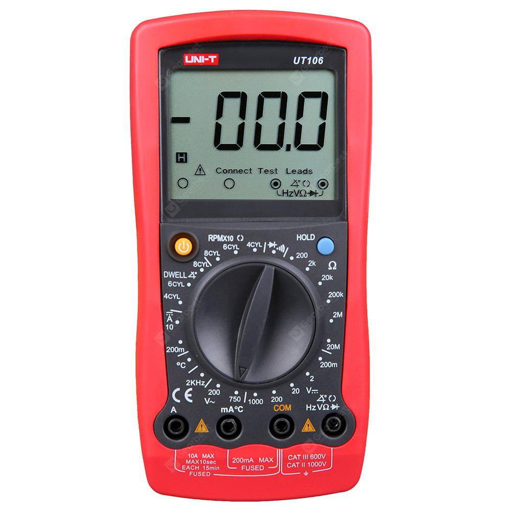UNI - T UT106 Handheld Digital Automotive Multimeter