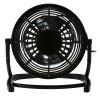 Lione - 816 USB Powered 4 inch Mini Desktop Fan - BLACK