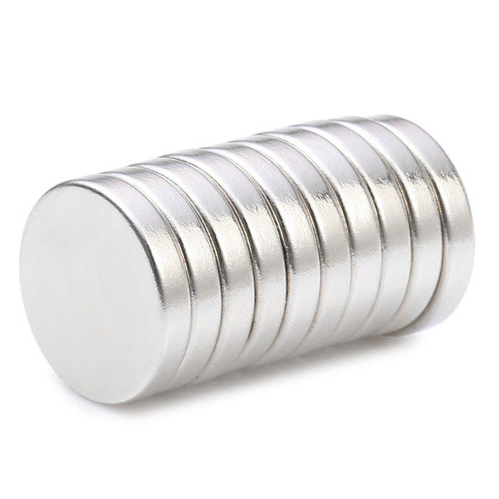 15 x 15 x 3mm N38 Powerful NdFeB Round Magnet