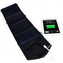 SW-N14T 14W Outdoor Foldable Portable Solar Charger Pack Mobile Power Supply