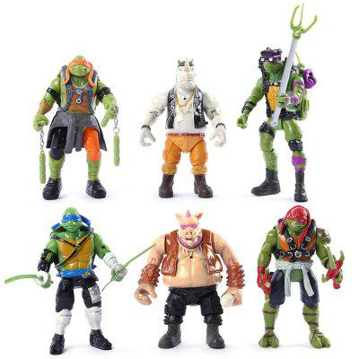 PVC Movie Action Figure - 6Pcs