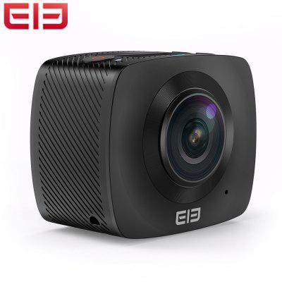 Elephone Elecam 360 WiFi Action Camera Dual LensAction Cameras<br>Elephone Elecam 360 WiFi Action Camera Dual Lens<br><br>Aerial Photography: Yes<br>Anti-shake: Yes<br>Auto Focusing: Yes<br>Battery Type: Removable<br>Brand: Elephone<br>Camera Timer: No<br>Capacity: 1500mAh<br>Charge way: USB charge by PC<br>Chipset: Sunplus SPCA6350M<br>Chipset Name: Sunplus<br>Class Rating Requirements: Class 6 or Above<br>Features: Wireless<br>Function: Anti-Shake, Auto Focusing<br>Image Format : JPG<br>Interface Type: External storage card slot, HDMI, USB 2.0<br>Language: English,French,German,Italian,Japanese,Polski,Portuguese,Russian,Simplified Chinese,Spanish,Traditional Chinese<br>LED Qty. : 3 x LED lights<br>Max External Card Supported: TF 32G (not included)<br>Microphone: N/A<br>Model: Elecam 360<br>Night vision : No<br>Package Contents: 1 x Camera, 1 x Bicycle Mount, 1 x Helmet Mount, 1 x 1/4 inch Adapter, 1 x 3M Sticker, 1 x USB Cable<br>Package size (L x W x H): 13.50 x 13.50 x 11.00 cm / 5.31 x 5.31 x 4.33 inches<br>Package weight: 0.535 kg<br>Product size (L x W x H): 6.00 x 4.90 x 3.20 cm / 2.36 x 1.93 x 1.26 inches<br>Product weight: 0.104 kg<br>Screen resolution: 128 x 64<br>Screen size: 0.96 inch<br>Screen type: LCD<br>System requirements: Win 7,Windows 2000 / XP / Vista<br>Time lapse: No<br>Type: Sports Camera<br>Video format: MOV, H.264<br>Video Resolution: 960P (30fps)<br>White Balance Mode: Auto<br>WIFI: Yes<br>WiFi Function: Image Transmission,Remote Control,Sync and Sharing Albums<br>Working Time: About 1 hour (960P / 30FPS)