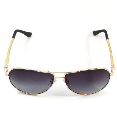 YIKANG Y9331 - 136 Men SunglassesStylish Sunglasses<br>YIKANG Y9331 - 136 Men Sunglasses<br><br>Brand: YiKang<br>Ear-stems Length: 14cm<br>Features: Anti-UV, Polarized, UV400<br>Frame Color: Golden<br>Frame Materials: Alloy<br>Gender: Men<br>Lens height: 5cm<br>Lens material: TAC<br>Lens width: 6cm<br>Nose bridge width: 3cm<br>Package Contents: 1 x Polarized Sunglasses, 1 x Glasses Box<br>Package Dimension: 17.00 x 8.00 x 7.00 cm / 6.69 x 3.15 x 2.76 inches<br>Package weight: 0.101 kg<br>Product Dimension: 14.50 x 15.00 x 5.00 cm / 5.71 x 5.91 x 1.97 inches<br>Product weight: 0.021 kg<br>Whole Length: 14.5cm