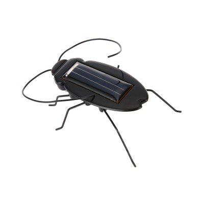 Solar Energy Cockroach Vibrating Trick Toy for Child Kid