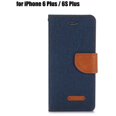 PU Leather Phone Cover Case for iPhone 6 Plus / 6S Plus