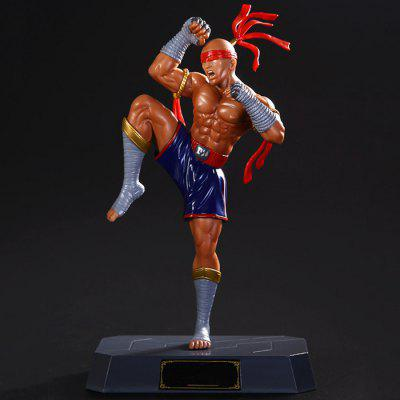 Static Online Role-playing Game PVC Figurine Character Model
