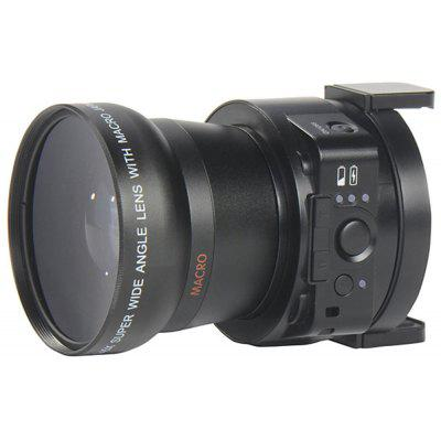 AMKOV LENS  -  OX5 1080P WIFI H.264 / MOV 20 Mega Pixels Camera Lens 120 Degrees Wide Angle Image