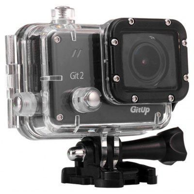 Buy BLACK GitUp Git2 2K WiFi Action Camera  (Pro Packing ) for $118.83 in GearBest store
