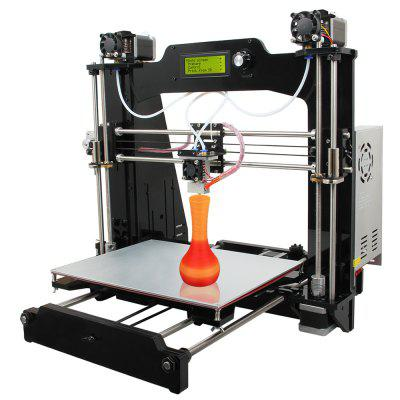 Geeetech Prusa I3 M201 3D Printer DIY Kit3D Printers, 3D Printer Kits<br>Geeetech Prusa I3 M201 3D Printer DIY Kit<br><br>Brand: Geeetech<br>Engraving Accuracy: 0.1 - 0.3mm<br>File format: G-code, STL<br>Frame material: Acrylic plate<br>Host computer software: Printrun,Repetier-Host<br>Material diameter: 1.75mm<br>Memory card offline print: SD card<br>Model: I3 M201<br>Nozzle diameter: 0.4mm<br>Package size: 52.00 x 47.00 x 15.50 cm / 20.47 x 18.5 x 6.1 inches<br>Package weight: 12.5200 kg<br>Packing Contents: 1 x Geeetech Prusa I3 M201 3D Desktop Printer DIY Kit<br>Packing Type: unassembled packing<br>Platform board: Aluminum Sheet<br>Print speed: 60 - 110mm/s<br>Product forming size: 280 x 210mm x 180mm<br>Product size: 51.00 x 45.00 x 45.00 cm / 20.08 x 17.72 x 17.72 inches<br>Product weight: 9.5000 kg<br>Supporting material: Wood, ABS, Flexible PLA, Nylon, PLA<br>Voltage: 24V
