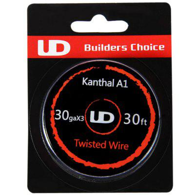 Original Youde UD 30ga x 3 Kanthal A1 Twisted Wire