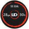 Original Youde UD SS 316L 24ga  Widerstand Draht - SILBER