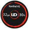 Original Youde UD 32ga Kanthal A1 Wire - SILVER