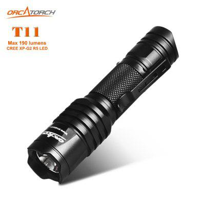 OrcaTorch T11 CREE Flashlight