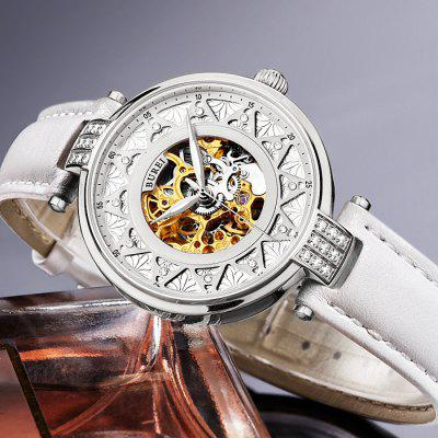 BUREI Fashion Classical Automatic Mechanical Women Watch