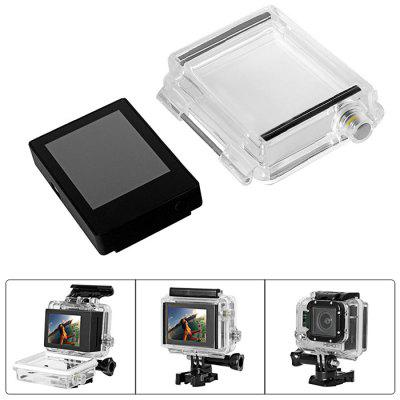Fantaseal LCD Screen Backdoor Cover for GoPro Hero 3