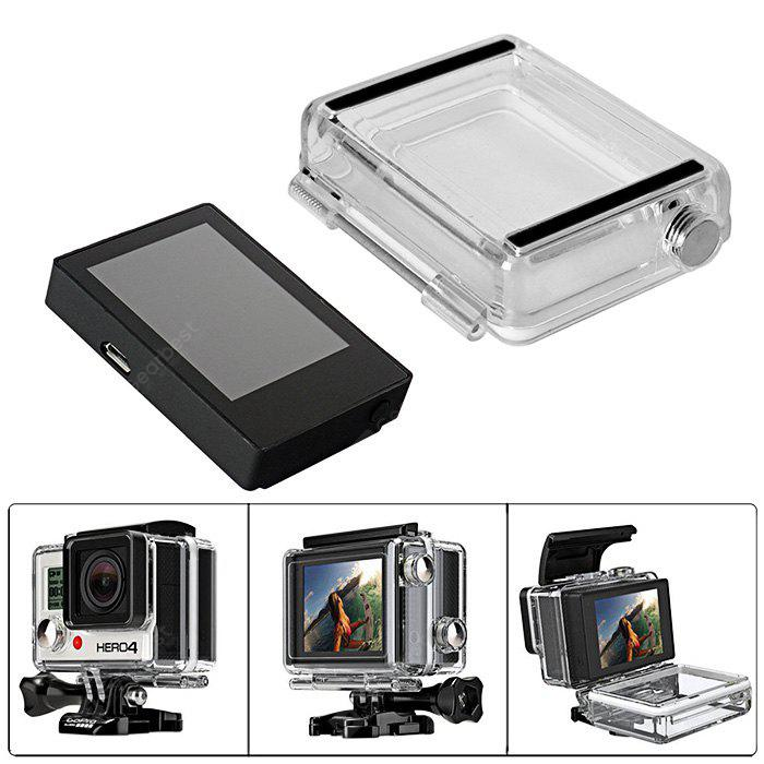 Fantaseal LCD Bildschirm Backdoor Cover für GoPro Hero 3+ / 4
